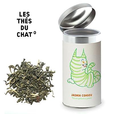 Jasmin Congou - Thé vert au jasmin - LES THÉS DU CHAT. 100gr