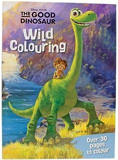 Disney Pixar The Good Dinosaur Wild Colouring