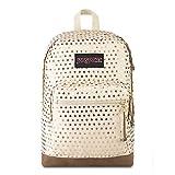 JanSport Right Pack Expressions Backpack - School, Travel, Work, or Laptop Bookbag, Gold Polka Dot