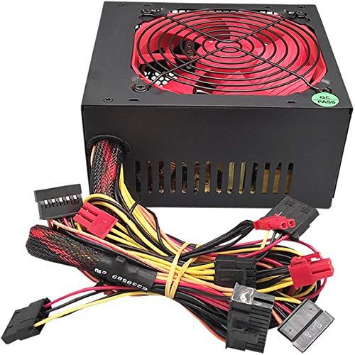 ZHEBEI Fuente de alimentación del chasis de 275W Fuente de alimentación de escritorio silenciosa resistente al desgaste fuente de alimentación de la computadora Amplia fuente de alimentación