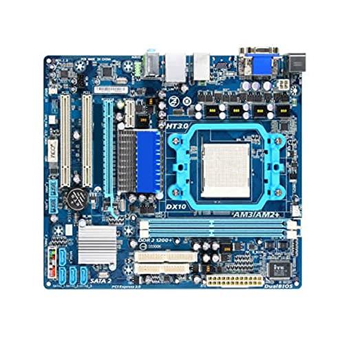 Placa Base Fit for GIGABYTE GA-MA78LM-S2 AMD 960G AM2 / AM2 + / AM3 DDR2 SATA II USB2.0 MA78LM-S2 Placa Base de Escritorio