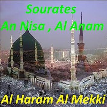 Sourates An Nisa, Al Anam (Quran)