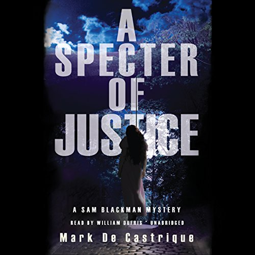 A Specter of Justice audiobook cover art
