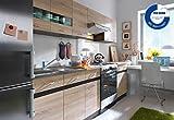 Küche 240cm von FIWODO - ERWEITERBAR - günstig + schnell - Einbauküche Junona Line Set 240
