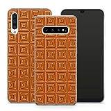 Handyhülle Ethno Samsung Silikon MMM Berlin Hülle Maya Muster Tribal Goa Inka Peru Aztec Om Alpaka, Hüllendesign:Design 4 | Silikon Klar, Kompatibel mit Handy:Samsung Galaxy A8 Plus (2018)
