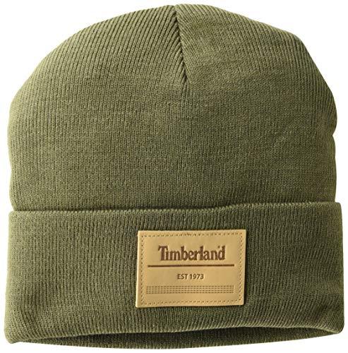 Timberland Herren Short Watch Cap Hut für kaltes Wetter, laubgrün, Einheitsgröße