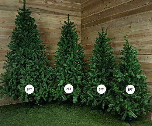 NEW COLORADO GREEN ARTIFICIAL CHRISTMAS TREE ((6FT -...
