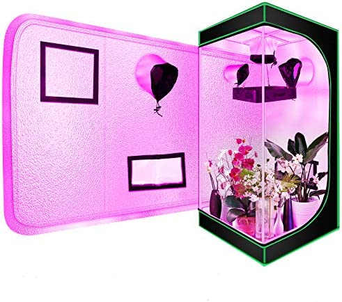 Grow Tent 58 x58 x80 Grow Tent Room Indoor Plants Growing Reflective Mylar Dark Room with Viewing product image