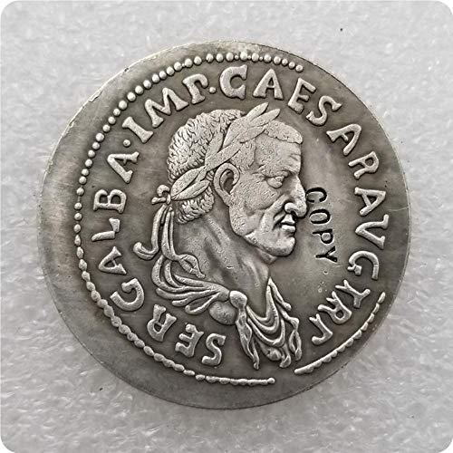 dadi Antica Moneta Romana Copia Monete Commemorative-Replica Monete medaglie Monete da Collezione