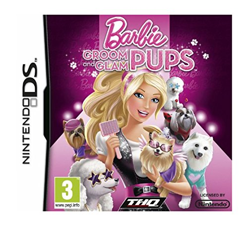 THQ Barbie Groom and Glam Pups, Nintendo DS - Juego (Nintendo DS)