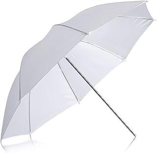 "Neewer Professional 33""/84cm White Translucent Reflector Umbrella for Photography Studio Light Flash"