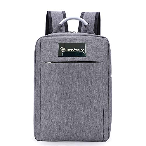 PUEZOKLY Laptop Backpack Travel Computer Backpacks Simple Style Waterproof Slim Laptops Bag for Men/Women