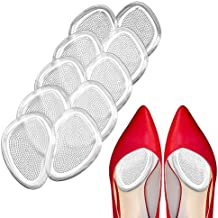 Metatarsal Pads Ball of Foot Cushions, Premium Forefoot Pad Soft Gel Inserts, Mortons Neuroma Callus Reduce Foot Pain and Provide Support, Suit for Men Women & All Shoes (White)