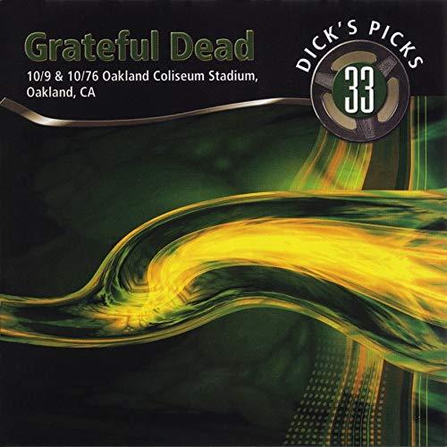 Dick s Picks Vol. 33 10 9 & 10 10 76, Oakland Coliseum Stadium, Oakland, CA