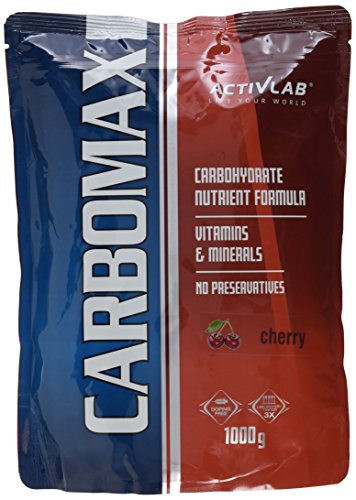Activlab, CarboMax Energy Power, Kirsche, 1er Pack (1x 1000g)