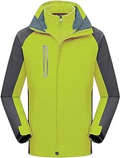 Xesvk Women Men Couples Autumn Winter Sport Outdoor Windbreaker Thick Warm Jacket Coat