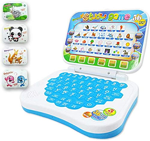 Doyeemei Baby Multifunction Language Learning Reading Machine Reading Machine for Toys Gifts Learning Toys Kids Laptop Toy Early Educational Computer Tablet Kids Edu Electronic Random color 15.5*12cm