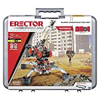 Erector by Meccano - Super Construction 25-in-1 Motorized Building Set STEM Education Toy 638 Parts For Ages 10 and Up [並行輸入品]