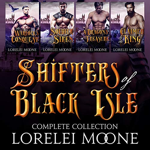 Shifters of Black Isle Audiobook By Lorelei Moone cover art