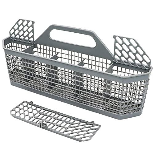 """Yonice WD28X10128 Dishwasher Silverware Basket (19.7""""x3.8""""x8.4"""") Compatible for GE Dishwasher,Replace WD28X10127,WD28X10131,WD28X10132,AP3772889"""