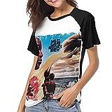 Photo de MinnSok Shirt à Manches Courtes pour Hommes de Sportswear, Miles Davis Bitches Brew Womens Women's Baseball Short Sleeves Stylish Short Sleeve Comfortable T Shirts