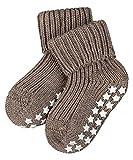 FALKE Baby Socken Catspads Cotton - 96prozent Baumwolle, 1 Paar, Braun (Pebble 5810), Größe: 80-92
