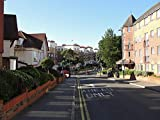 MX-XXUOUO Rompecabezas, Inglaterra Bournemouth Summer Roads Street Houses, Reino Unido Hermosos paisajes Naturales y Humanos, 1000 Piezas, 75x50cm