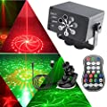 DJ Disco Lights, USB Party Stage Light, 240 LEDPatterns Sound Activated and Strobe Flash Effects with Remote Control for kids Birthday, Family Gathering, Karaoke, Christmas, Wedding