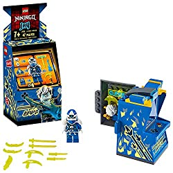 The gateway to the exciting new video game world of Prime Empire is through this awesome arcade machine. NINJAGO fans will adore creating stories with this arcade toy and 2 video game figures: Digi Jay and, exclusive to this toy playset, Avatar Jay w...