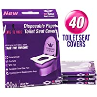 40-Count Venus To Mars Disposable Toilet Seat Covers