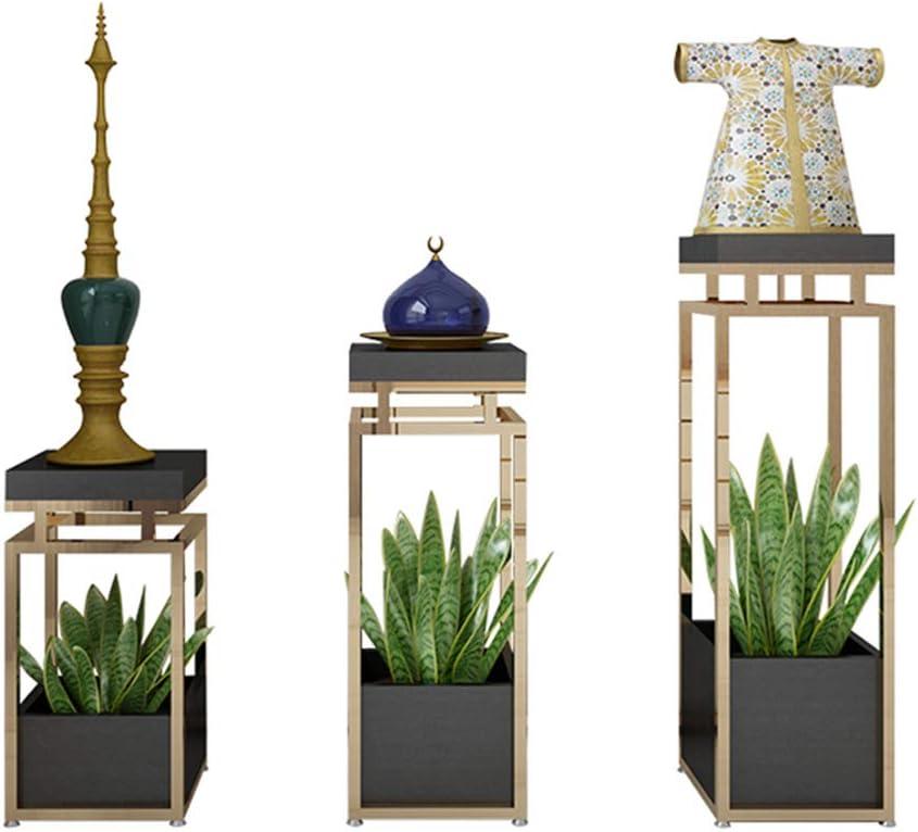 Northern Europe Iron online shopping Art Flower Pot Golden Max 90% OFF Stand Layer Double Ba