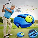 Silfrae 2 in 1 Game Set Outdoor Tennis//Badminton Bounce Ball Game for Both Adult and Kids