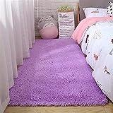 Alfombras de área mullidas lavables a máquina Alfombras de área suave para dormitorio, sala de estar, comedor, sala de estar, alfombra para niños, alfombrillas de juego para niños, suaves y sedosas,