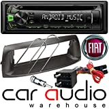Fiat Punto 1999 to 2005 Complete Stereo Fitting kit - Package Includes a Kenwood CD MP3 USB Car Stereo Player...