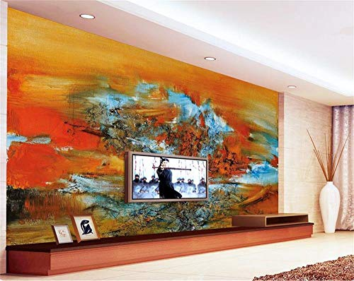 Preisvergleich Produktbild YCRY - Fototapete - Tapete Abstraktes Öl 3d der Landschaft 3d - Moderne Wanddeko - Design Tapete - Wandtapete - Wand Dekoration-120x100cm