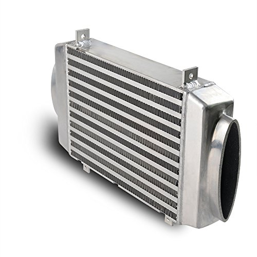 Aluminum Bolt-On Top Mount Supercharge Turbo Intercooler Replacement For BMW 2002-2006 2003 2004 2005 Mini Cooper S R53 Silver