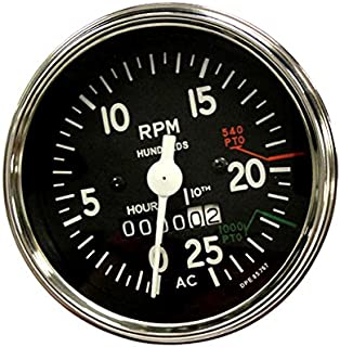 Complete Tractor Tachometer for Allis Chalmers 180; 185; 190; 190Xt; 200; 210; 220
