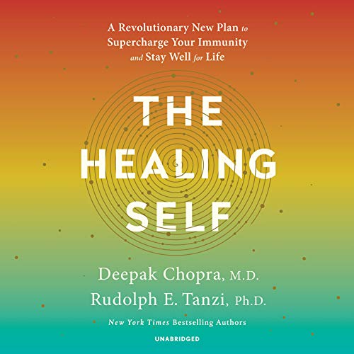 The Healing Self     A Revolutionary New Plan to Supercharge Your Immunity and Stay Well for Life              De :                                                                                                                                 Deepak Chopra M.D.,                                                                                        Rudolph E. Tanzi Ph.D.                               Lu par :                                                                                                                                 Shishir Kurup                      Durée : 12 h et 29 min     Pas de notations     Global 0,0