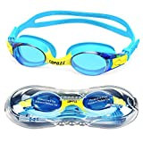 Product Image of the COPOZZ Kids Swimming Goggles, Child (Age 4-12) Waterproof Swim Goggles with...