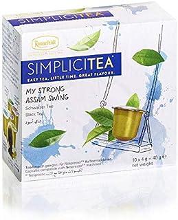 Ronnefeldt SimpliciTea My Strong Assam Swing, Schwarzer Tee, Teekapseln 10 Teekapseln à 4 g