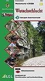 Wutachschlucht: Wanderkarte des Schwarzwaldvereins 1:35000