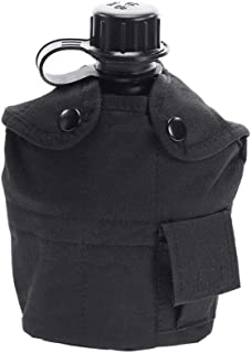 Ultrafun Military Water Canteen Bladder 2 Quart G.I. Issue with Cover and Strap