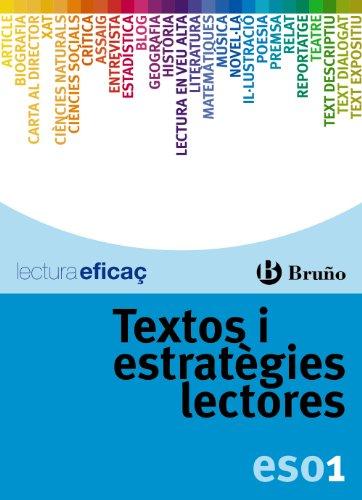 Textos i estratègies lectores 1r ESO (Català - Material Complementari - Textos I Estratègies Lectores) - 9788421677247