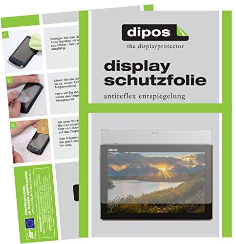 dipos I 2X Schutzfolie matt kompatibel mit Asus ZenPad 10 (Z301 ML/MFL) Folie Bildschirmschutzfolie