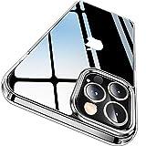 CASEKOO iPhone 12 Pro Max 用 ケース 6.7 インチ クリア 米軍MIL規格 耐衝撃 高透明 SGS認証 カバー ストラップホール付き ワイヤレス充電対応 アイフォン 12 Pro Max 用 ケース(クリア)