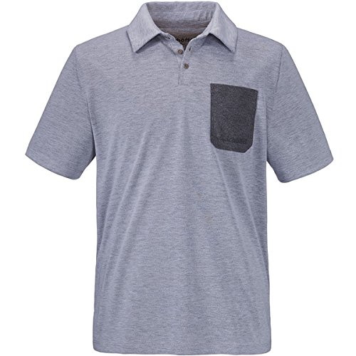 Schöffel Damen Bilbao Polo Shirt, Mittelgrau/Melange, S