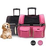 Fesjoy Mochila Portador De Viaje para Mascotas,Mochila Portador De Viaje para...