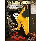 Cappiello 1922 Advert Coffee Victoria Arduino Unframed Wall