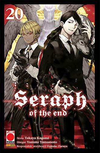 Fumetto Seraph of The End N° 20 - Arashi 33 - Planet Manga – Panini Comics – Italiano