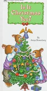 Is It Christmas Yet?Strdy Brd (Board Book)